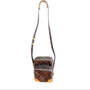 Auth Louis Vuitton Amazon Shoulder Bag Monogram